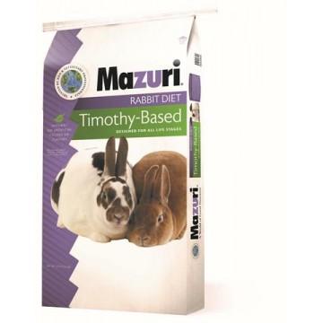 Mazuri Rabbit Diet with Timothy Hay, 25lb (11.36kg)